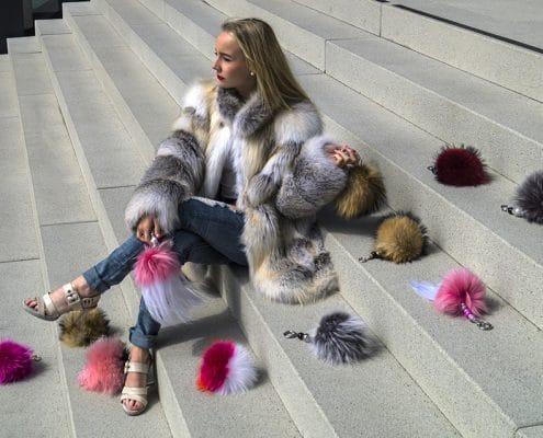 Aussteller Feilitsch Pelze Luxus Lifestyle Russland Mode Fashion